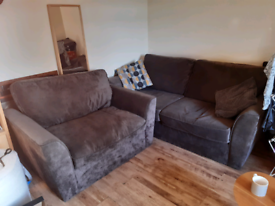 3 seater sofa & 2 seater snuggle chair