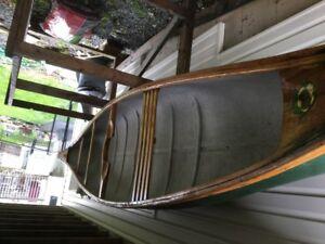 1970's Chestnut Canoe