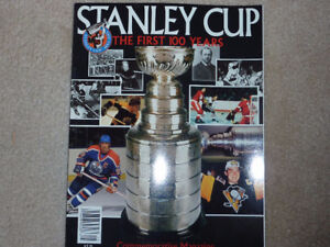 STANLEY CUP THE FIRST 100 YEARS COMMEMORATIVE MAGAZINE