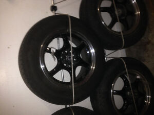 205/65R15 Tires and Rims