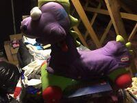 Little tikes ride on dinosair