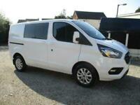 2020/20 Ford Custom Limited Six Seater Crewvan