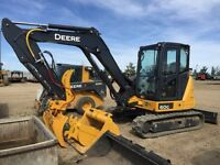 SMALL EXCAVATORS FOR RENT OR HIRE