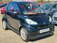 2009 smart fortwo coupe Passion 2dr Auto [84] COUPE Petrol Automatic