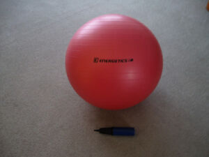 ENERGETICS FITNESS BALL WITH INFLATER PUMP
