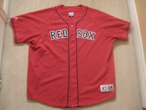 Boston Red Sox Men's Stiched Majestic MLB Jersey