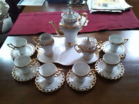Adeline 6 cup tea set