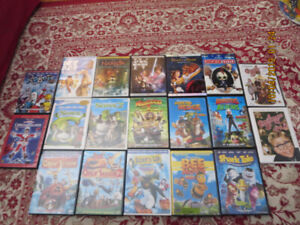 Various DVD & VHS movies for sale!