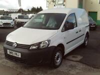 Volkswagen Caddy 1.6TDI 75ps Startline Air Con DIESEL MANUAL WHITE (2015)