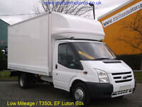 2010/ 59 Ford Transit 115 T350EF Luton Box van Roller shutter door DRW