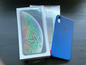 Like NEW Apple iPhone XS Max 64GB Space Grey + Apple Case