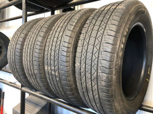 3 year old michellin latitude tires 17 inch NEVER USED IN SNOW
