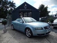 Audi A4 2.4 CABRIOLET SPORT (blue) 2003