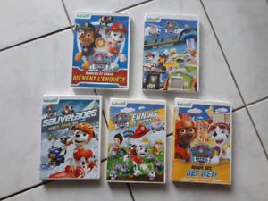 5 DVD Pat patrouille
