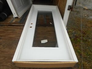 "EXTERIOR DOOR WITH GLASS, 32""w x 80"" h St. John's Newfoundland image 1"