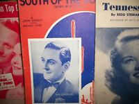 VINTAGE MUSIC BOOKS - piano, guitar, voice.....  reduced