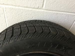 Snow tires 195/55R15 Cambridge Kitchener Area image 1