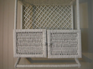 Wicker Bathroom Shelf London Ontario image 5