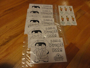 Brand new lot of 6 colouring puzzles with crayon packs London Ontario image 1