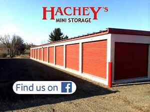New, Clean and SAFE Hachey's Mini Storage