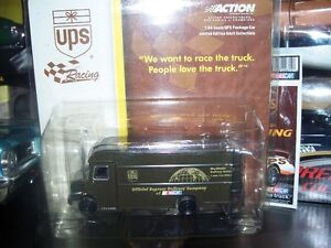"UPS Truck 1/64 scale 6"" long"