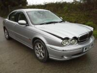 2003 Jaguar X-TYPE 2.0 V6 SE DAMAGED SPARES OR REPAIR SLAVAGE