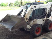 PIERCEY BOBCAT SERVICES -  SNOW REMOVAL -LANDSCAPING & CLEAN UP