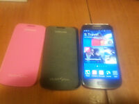 Unlocked Samsung Galaxy S4 Mini  New Condition With 2 Cases
