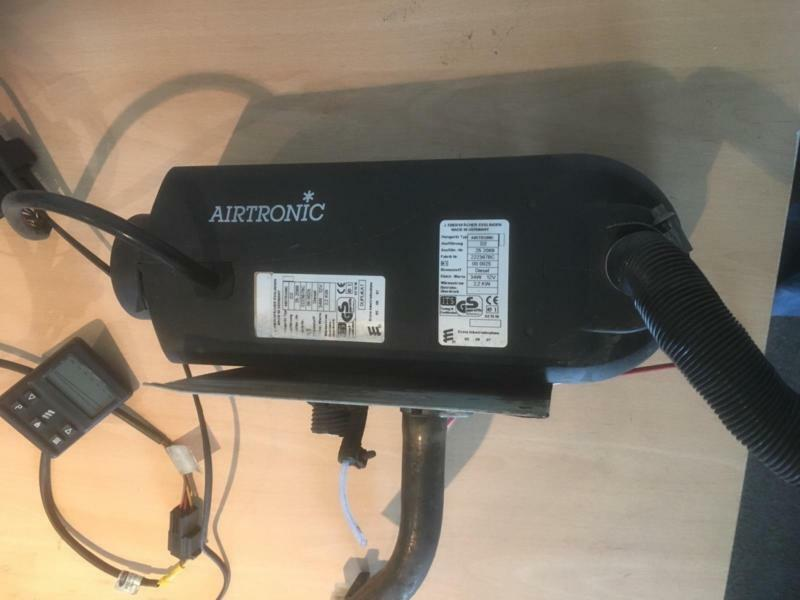 12 V DIESEL HEATER EBERSPACHER D2 AIRTRONIC WITH PUMP DIGITAL CONTROL ETC,  | in Clacton-on-Sea, Essex | Gumtree