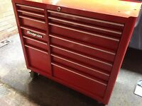 Snap on roll cab tool box 40 inch