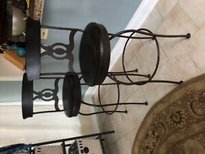 Pair of Swivel Bar Stools (2 stools total...$95 each)