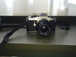 Pentax ME Super film SLR + lenses