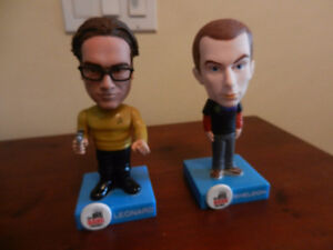 Big Bang Theory Bobbleheads Sheldon and Leonard