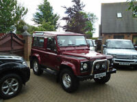 2000 Land Rover 90 Defender 2.5 Td5 Factory County 6 Seats ( 84000 MILES )