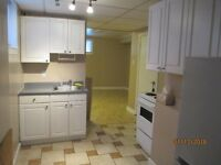 1 Bdrm Lower Unit in Triplex Available Today!
