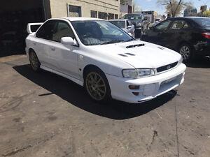 JDM Subaru Impreza WRX STi GC8 1999