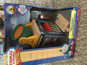 New! Thomas and friends  wooden railway sets Kitchener / Waterloo Kitchener Area image 2