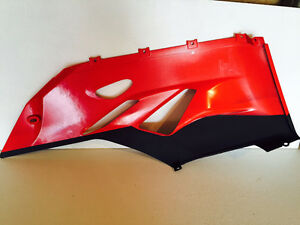 Ducati Panigale R lower fairings