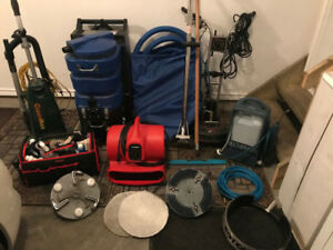 **Carpet Cleaning Equipment - Over $10,500 worth of equipment***