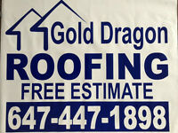Roof Replacement and Repair (Gold Dragon Free Estimate)