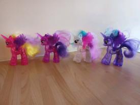 My Little Pony light up figures