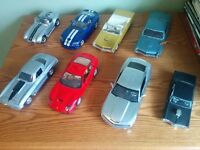 Model Cars (Diecasts 1:18 scale) -Boxed/Unboxed