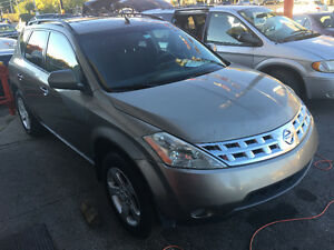 Nissan Murano 2004 146,000KM CERTIFIED S.A.A.Q 4X4 CLEAN!  NICE