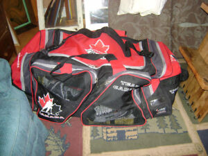 Team Canada Hockey Bag with Wheels