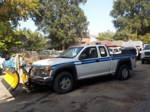 2006 CHEV 4DR EXD CAB PLOW SALTER