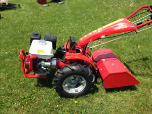 13 hp Honda  powered  two wheeled tractor