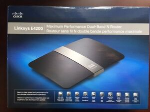 !!! Linksys E4200A Router by Cisco !!!