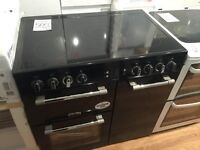 Leisure CK90C230 Range Cooker Electric Black 90cm Free DeliveryFitUplift