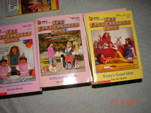 Baby Sitter Club books for sale