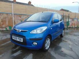 2009 Hyundai i10 1.2 76bhp Comfort petrol FULL SERVICE MINT CAR NO ISSUES